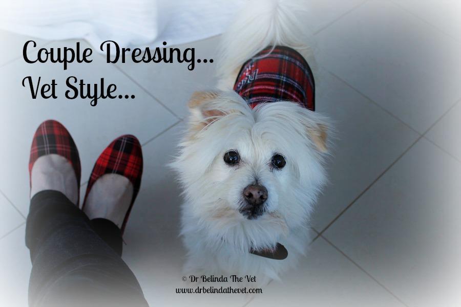 Couple dressing - vet style