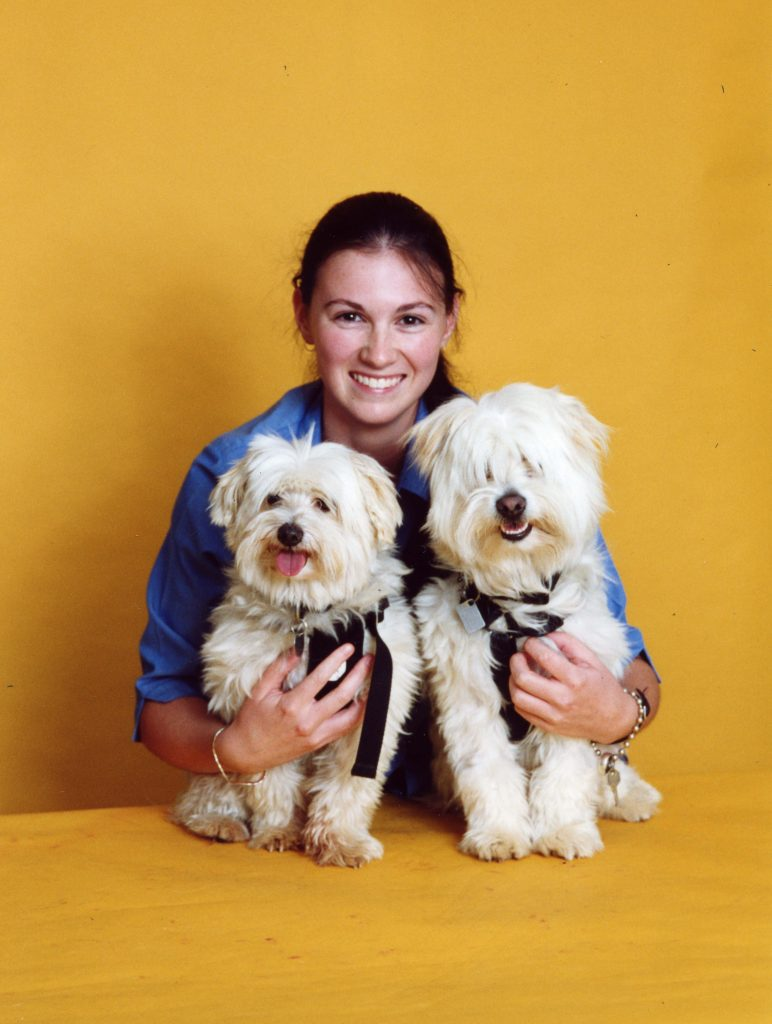 This picture of Jack, Cassie and I makes me smile. His goofy long hair and Cassie's happy little face make me smile. I was also super proud in this picture - my first staff photo as a vet nurse which included my dogs. #dreamscomingtrue