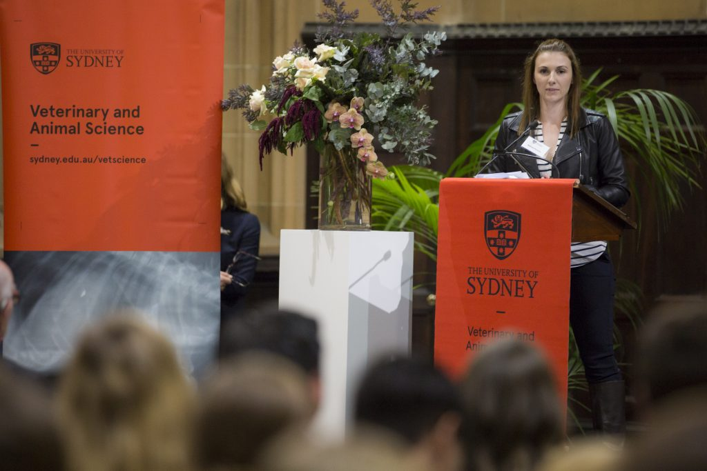 Dr Belinda speaking at Sydney Uni
